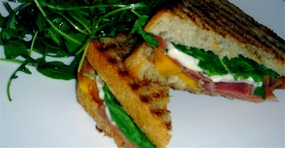 If you've never tasted a persimmon, now is the time. You will love this persimmon panini. // alexandracooks.com