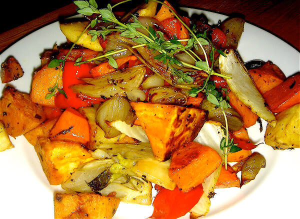 There could not be a simpler method to prepare vegetables than roasting. If ever you are feeling devoid of vitamins or nutrients or are simply looking for a way to incorporate more vegetables into your diet, prepare these roasted vegetables. They are delicious! // alexandracooks.com
