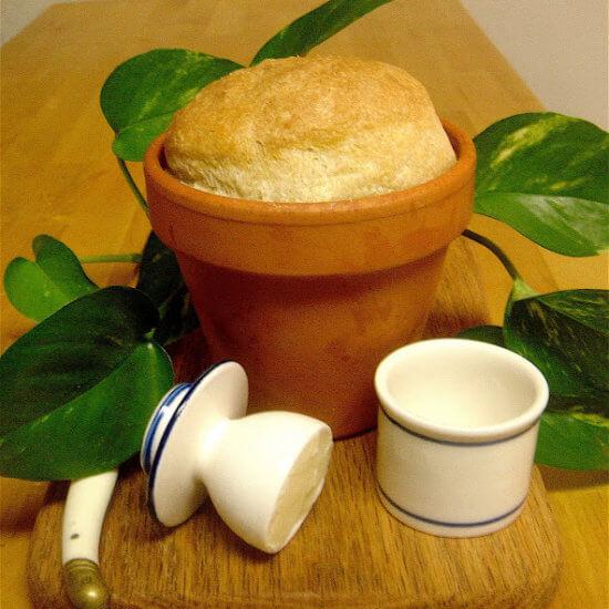 Flowerpot Beer Bread