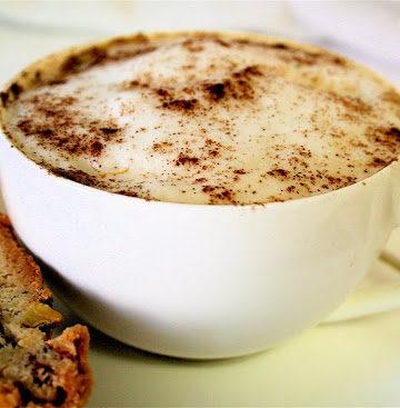 Biscotti And Homemade Chai