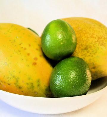 Papaya and Lime