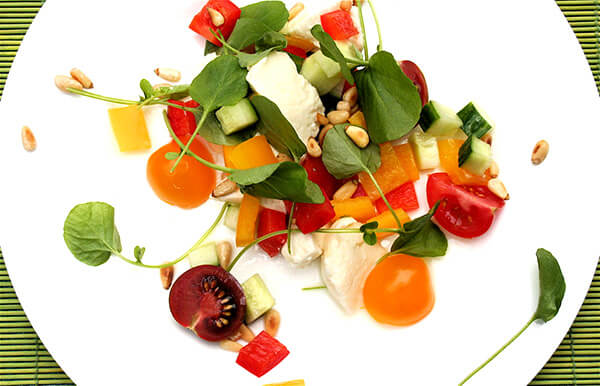tomato watercress salad