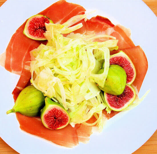 Fig, Fennel, and Prosciutto Salad