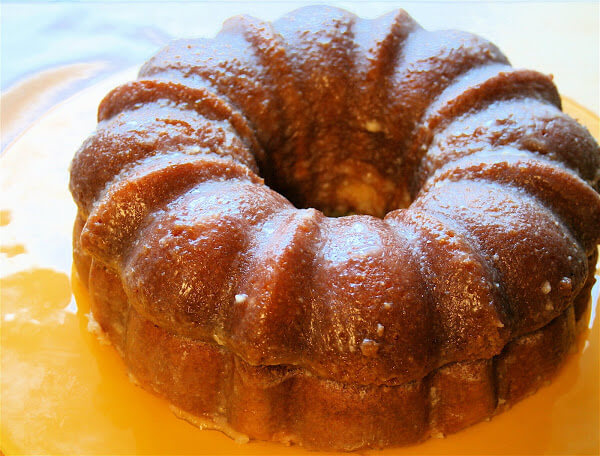 Moist and boozy with a sugary-buttery glaze, this rum cake - in its original incarnation - has been a favorite since its debut. // alexandracooks.com