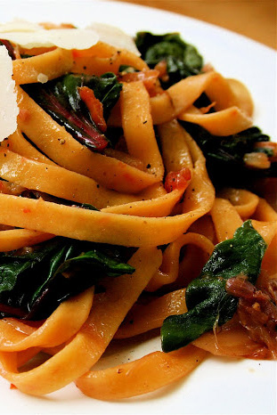 A More Prudent Farmers' Market Pasta