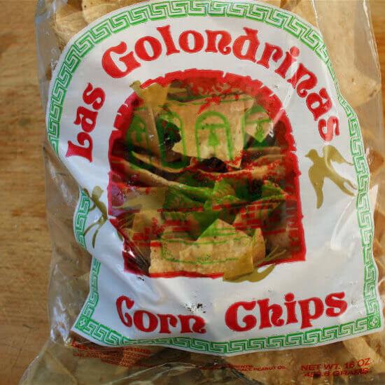 Burnt Bagels, Tilden Farm Avocados and Las Golondrinas Tortilla Chips