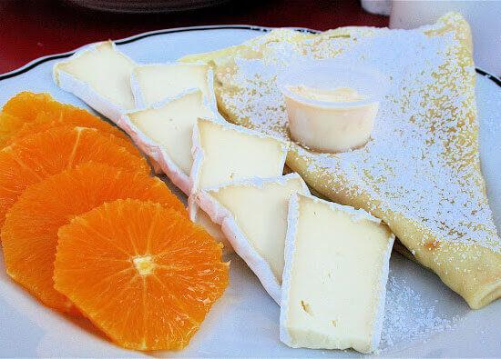 Fajita Pasta, Farmers' Market Arugula, Breakfast Crepes & Other Random Thoughts