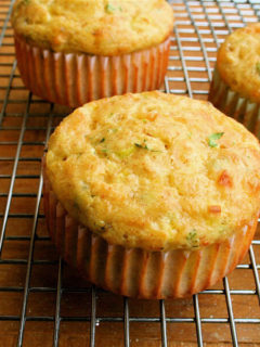 These cottage cheese muffins are fun. Unlike any muffin I've ever tasted. Textured like a cross between a souffle and a quiche. Savory. Can be flavored in any way: with ham, bacon, herbs, peppers, spinach, whatever. A nice, portable breakfast especially for those who eat on the run. // alexandracooks.com