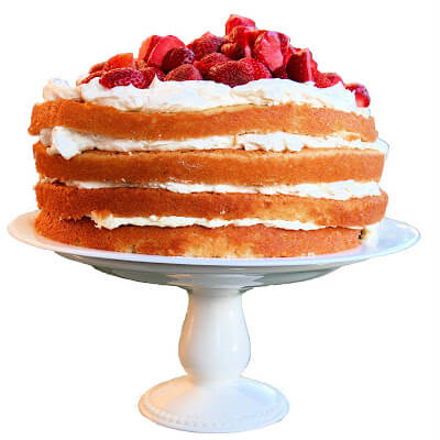 This lemon-buttermilk wedding cake bakes evenly and is both moist and light. The lemon curd adds a nice tang and helps keep the cake moist. And the bright-white, Swiss Buttercream frosting (made in place of a cream cheese frosting) gives the cake a really festive, professional feel. // alexandracooks.com