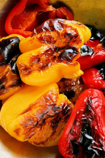 How to Roast Peppers