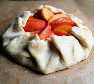 One Peach, One Tart, A Favorite Recipe, Simplified
