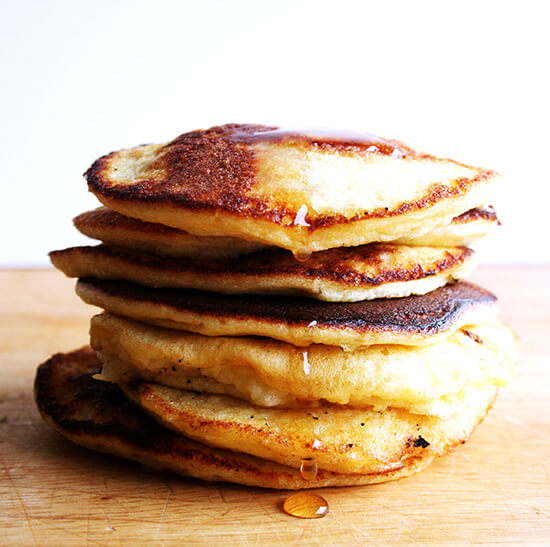 I have been dreaming about lemon ricotta pancakes ever since I had them a few years ago and over the years have saved countless recipes from various newspapers and magazines. Here are a few of my theories on the secret to lemon ricotta pancakes. // alexandracooks.com