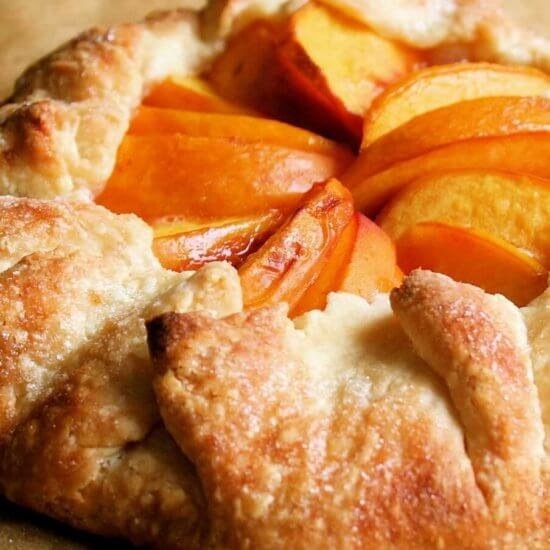 One Peach, One Tart, A Favorite Recipe, Simplified