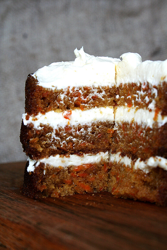 "This carrot cake recipe is a winner and I have had it saved for years. It appeared in Fine Cooking magazine in 2004 in an article called ""Carrot Cake, Perfected."" Why I have waited five years to give the recipe a go is beyond me, but I am so happy I finally have. This recipe is a winner. // alexandracooks.com"