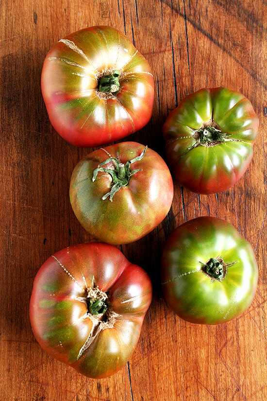 Cherokee Purple Tomatoes
