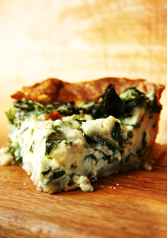 Tartine Quiche