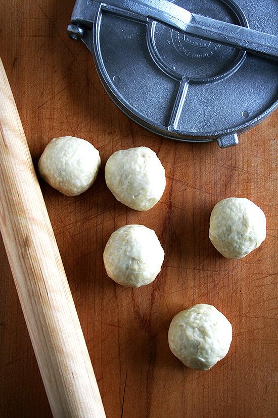 tortilla dough
