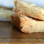 Rosemary Shortbread + Cute Parchment Paper Packages