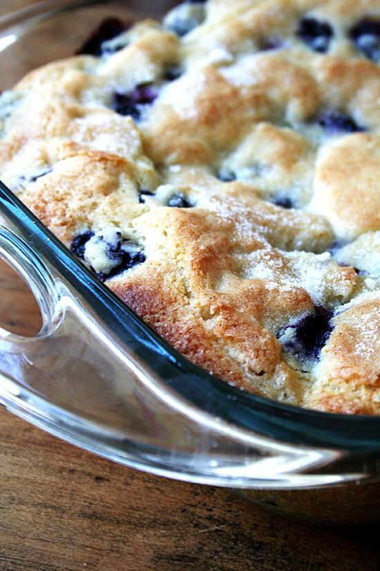 Lemon-Blueberry Breakfast Cake