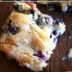 Buttermilk blueberry breakfast cake