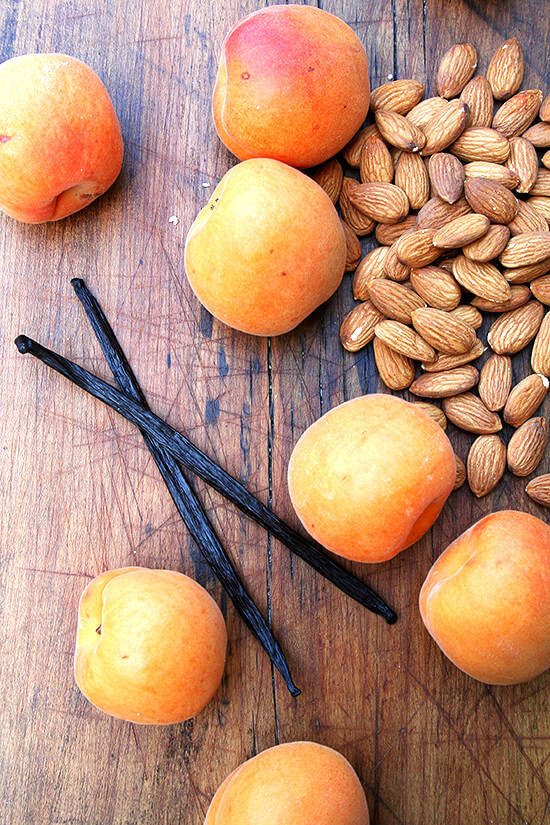 apricots and almonds