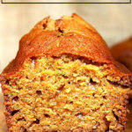 Super moist and delicious pumpkin bread.