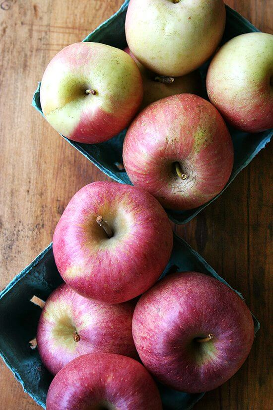 Local Fuji and Cameo apples