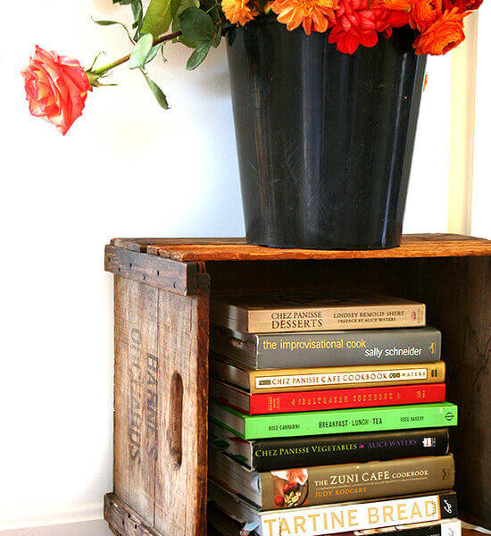 Cookbooks, Ranunculus & An Easy Little Craft Project