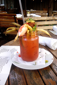 Ramos House Cafe Bloody Mary