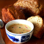 Vermont Cheddar Cheese Soup with Beer Bread