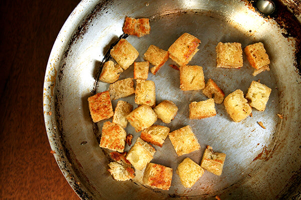 olive oil-fried bread
