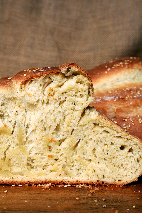 Rosemary Semolina Bread with Sea Salt from Seattle's