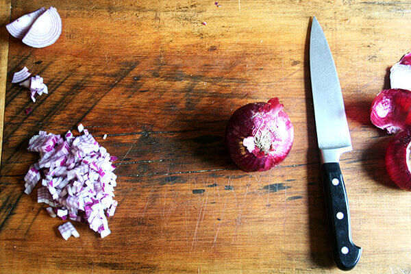 Two Ways to Cut an Onion