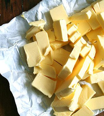 Lemon-Thyme Shortbread, C4C Gluten-Free Flour, Kerrygold Butter