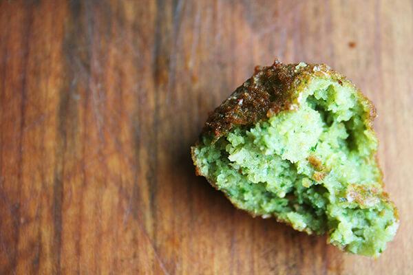 bite of falafel
