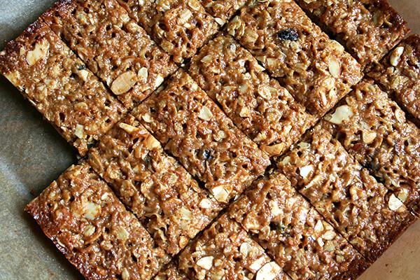 cut granola bars