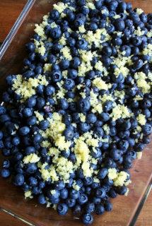 Lemon Blueberry Crisp