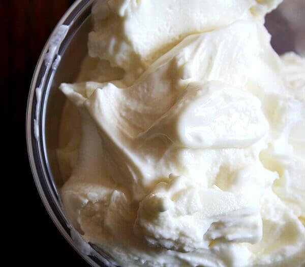 A bowl of Real Frozen Yogurt