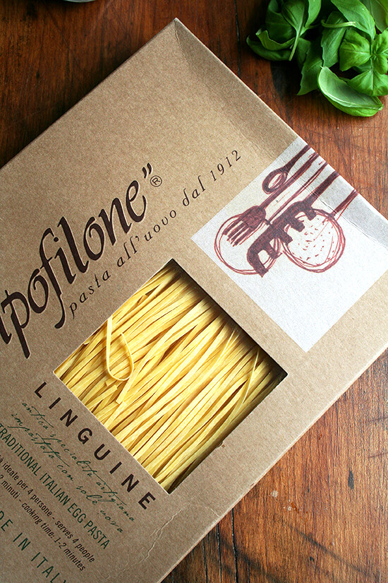 yummy pasta from Po Valley Foods