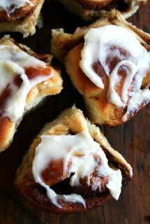 Molly Wizenberg's Cinnamon Rolls with Cream Cheese Icing