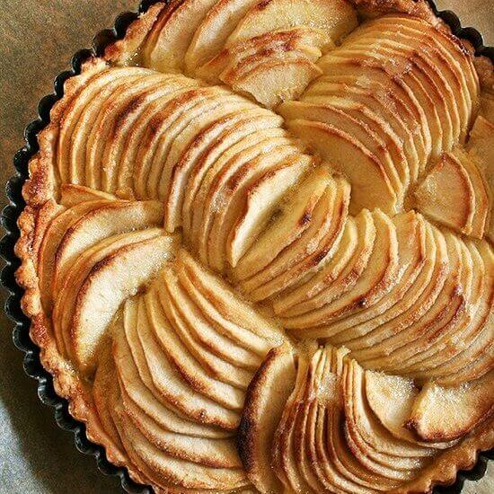 French Apple Tart & Cinnamon Snails