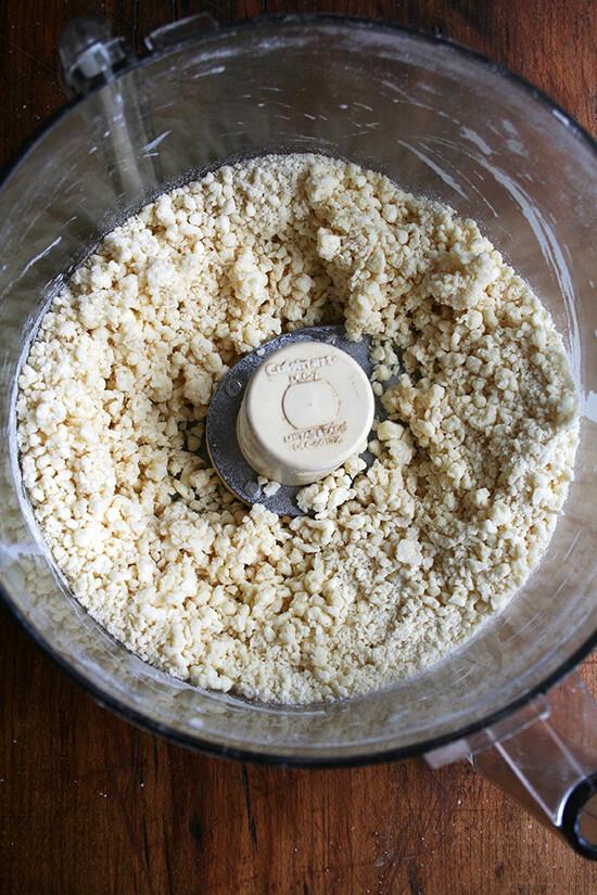 tart dough, made in Cuisinart