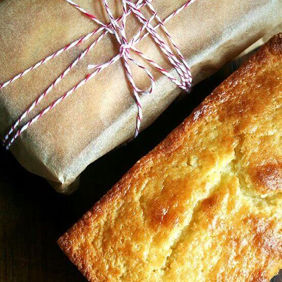 Orange-and-Ricotta Pound Cake & A Few Gift Ideas