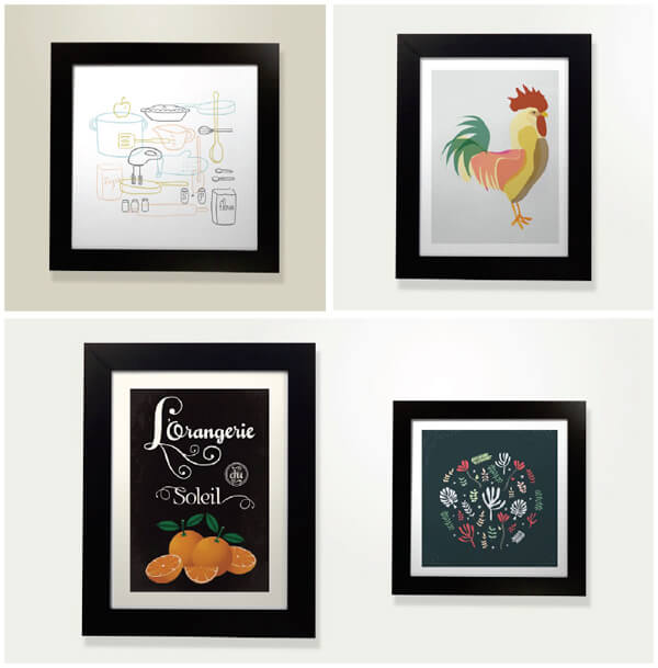 art prints for the foodie, by minted