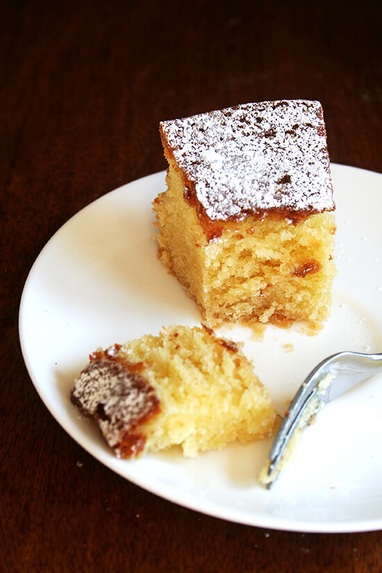 Panisse Cake Recipe