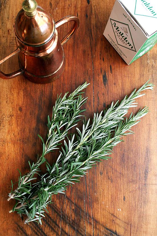 rosemary & olive oil & sea salt