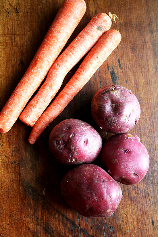 carrots & potatoes