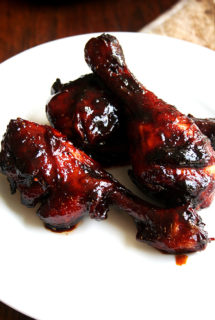 Honey-Soy Chicken Drumsticks, Thighs or Wings