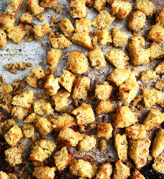 The Best Croutons and How Best to Eat Them