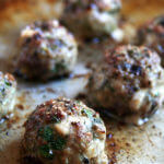 Broiled Lamb Meatballs — seasoned with parsley, mint, and red wine-soaked bread, these meatballs are irresistible.